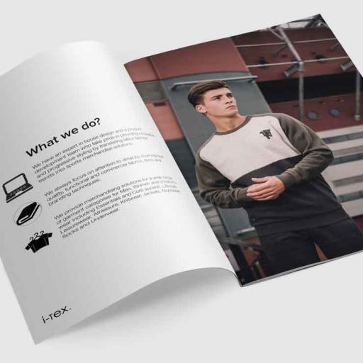 A5 Stapled Brochure Printing