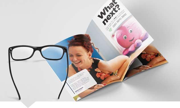 A6 Stapled Brochures