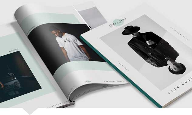 Perfect Bound Brochure Printing