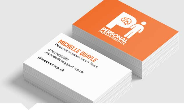 Non-Laminated Business Cards