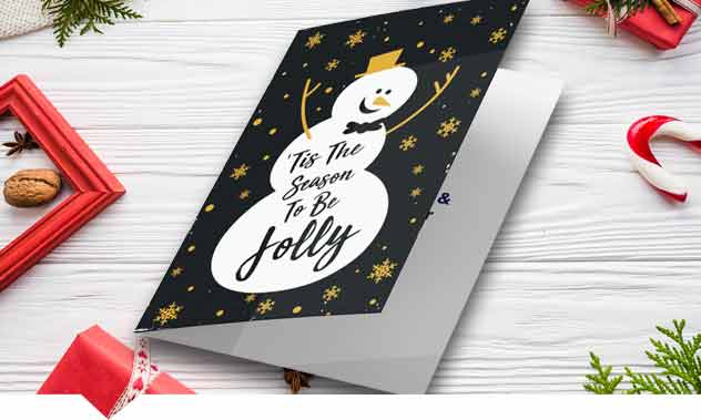 Printed Christmas Cards